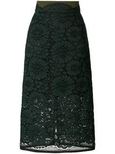 кружевная юбка-миди Dorothee Schumacher