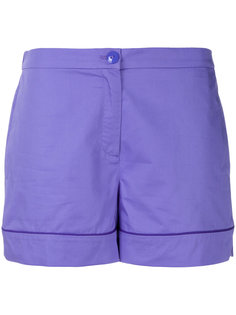 turn-up hem shorts Emilio Pucci