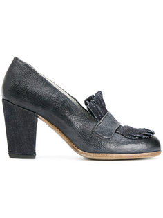 туфли с бахромой спереди Sartori Gold