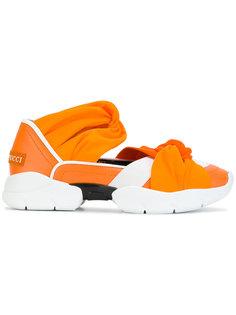 кроссовки с перекрученными деталями Emilio Pucci