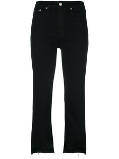 укороченные джинсы с необработанными краями Rag & Bone