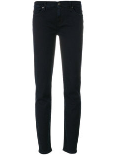 джинсы скинни с заниженной талией  7 For All Mankind