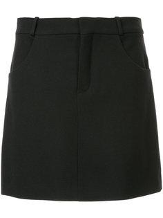 юбка мини А-образного силуэта Chloé