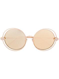 солнцезащитные очки в круглой оправе Boucheron