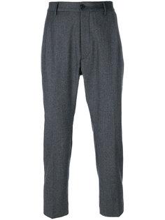 плиссированные брюки Pence
