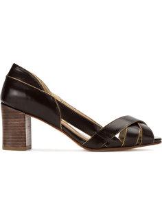 туфли с ремешками Serpui