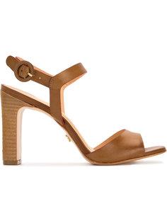 chunky heel sandals Serpui