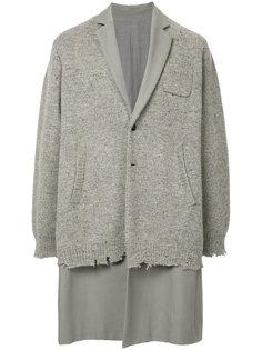 многослойное пальто Undercover