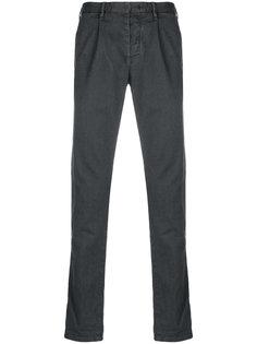 брюки-чинос классического кроя Incotex