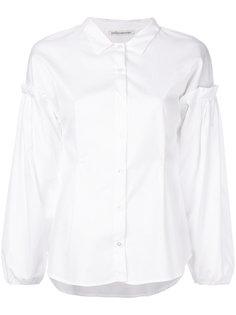 рубашка с рукавами-фонариками Stefano Mortari