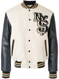 куртка-бомбер в спортивном стиле Schott