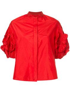 блузка со структурированными рукавами Dice Kayek