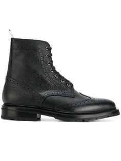 сапоги со шнуровкой  Thom Browne