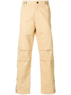 брюки с принтом тигра Maharishi