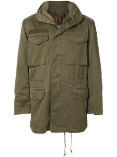 куртка с капюшоном  и карманами карго Maharishi