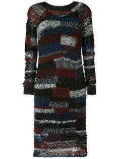 платье-свитер в полоску  Rosetta Getty