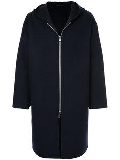 пальто с капюшоном на молнии  H Beauty&Youth
