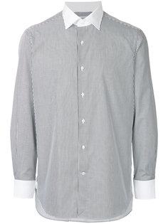 рубашка в тонкую полоску United Arrows