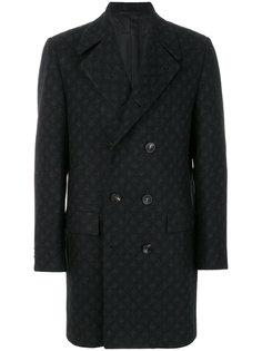 двубортное пальто на пуговицах Kiton