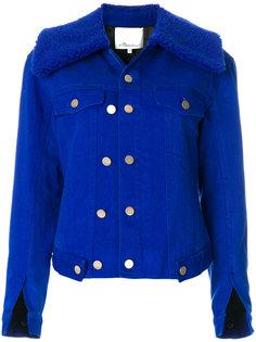 куртка с меховым воротником 3.1 Phillip Lim