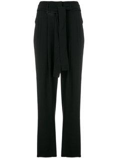укороченные брюки с поясом Michael Michael Kors