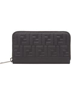 бумажник с тиснением логотипа Fendi