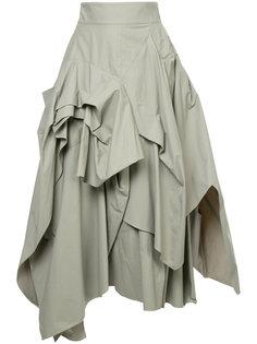 юбка со сборками Maticevski