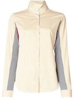 рубашка в полоску дизайна колор-блок Aalto