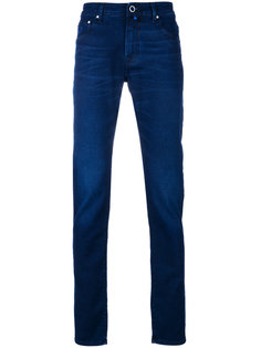 классические джинсы скинни Jacob Cohen