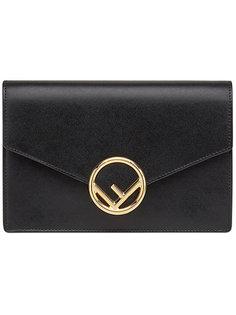 сумка на плечо с логотипом Fendi