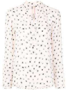 блузка с цветочным принтом Marc Cain