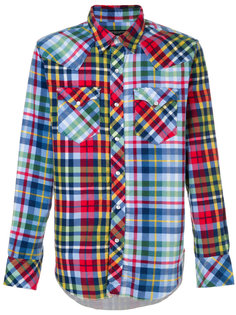 клетчатая рубашка Engineered Garments