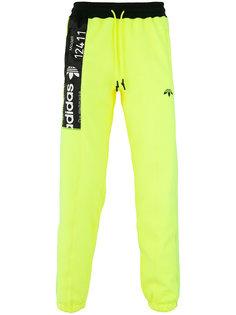 спортивные брюки с контрастной панелью Adidas Originals By Alexander Wang