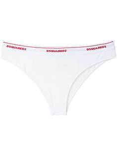 брифы с логотипом Dsquared2 Underwear