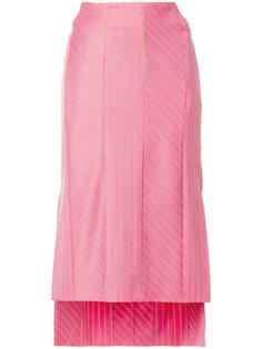 юбка миди с вышивкой Aalto