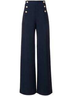 широкие брюки с высокой талией Alberta Ferretti