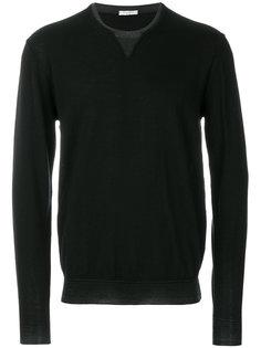 свитер с круглым вырезом с эффектом многослойности Paolo Pecora