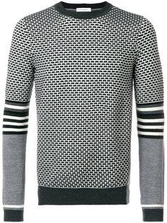свитер с мелким узором Paolo Pecora