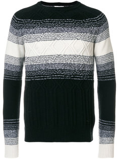 свитер с градиентным принтом Paolo Pecora