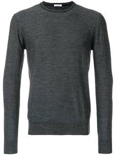 свитер с круглым вырезом с зазубриной Paolo Pecora