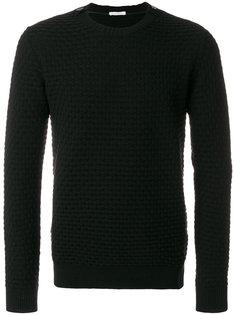 фактурный свитер с пуговицами на плечах Paolo Pecora