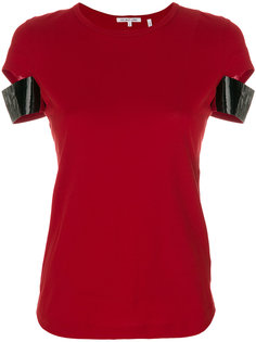футболка с контрастными рукавами Helmut Lang
