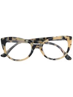 "очки Brigitte в оправе ""кошачий глаз"" Kyme"