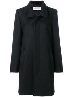 пальто с воротником-стойкой Saint Laurent