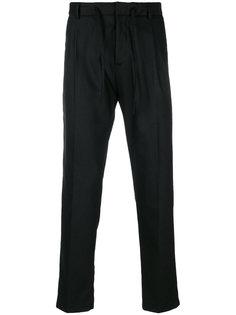 плиссированные брюки с эластичным поясом Paolo Pecora