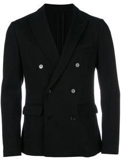 приталенный двубортный пиджак  Paolo Pecora