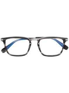 очки в прямоугольной оправе Brioni