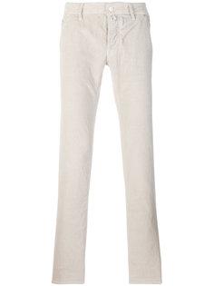 вельветовые прямые брюки Jacob Cohen