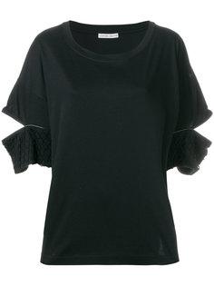 футболка с прорезями на рукавах Tsumori Chisato