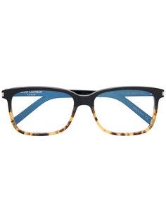 очки с квадратной оправой Saint Laurent Eyewear
